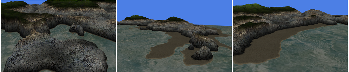 Charack: Tool for Real-Time Generation of Pseudo-Infinite Virtual Worlds for 3D Games
